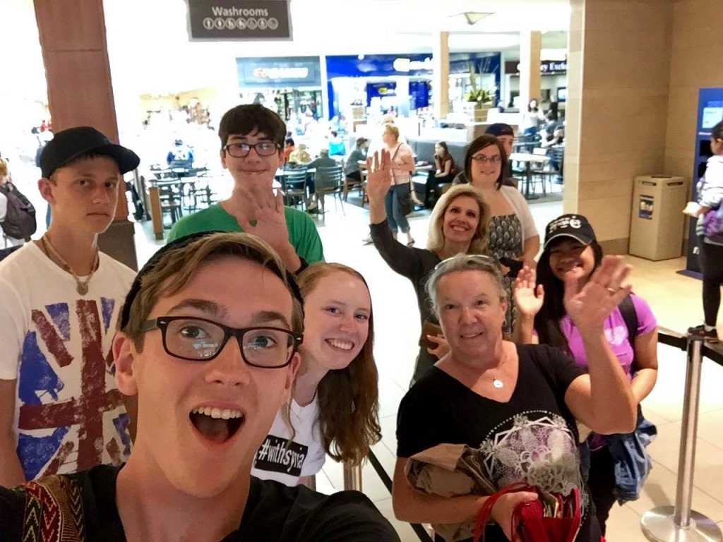 Scavenger Hunt at the Mall