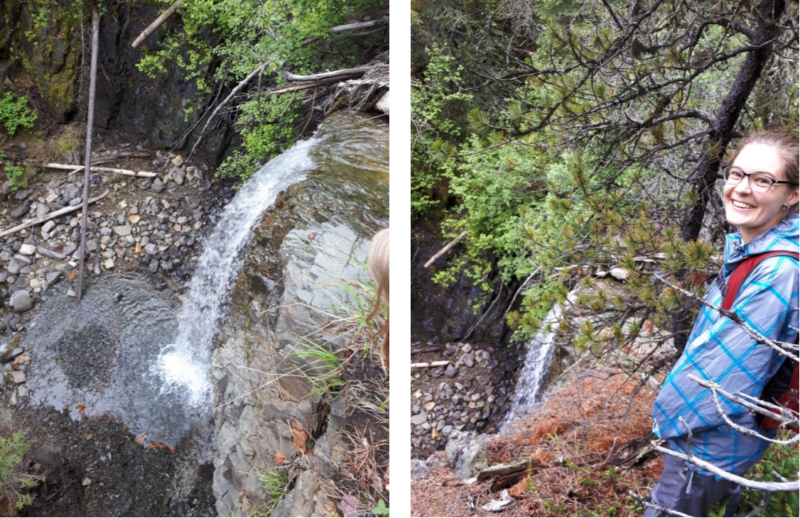 Day 1: A hike to a waterfall