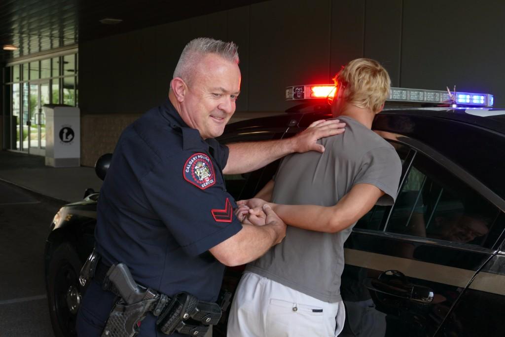 Under arrest - just a demo!