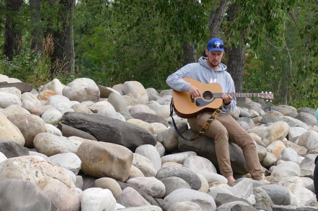 Worship at the river
