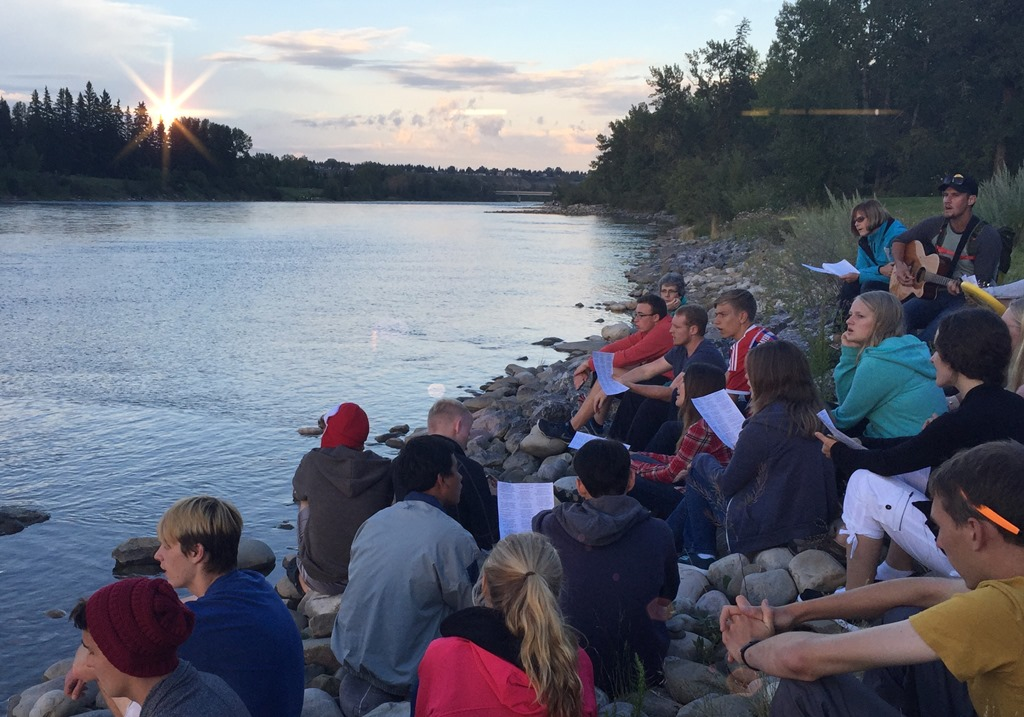 Worship at the River