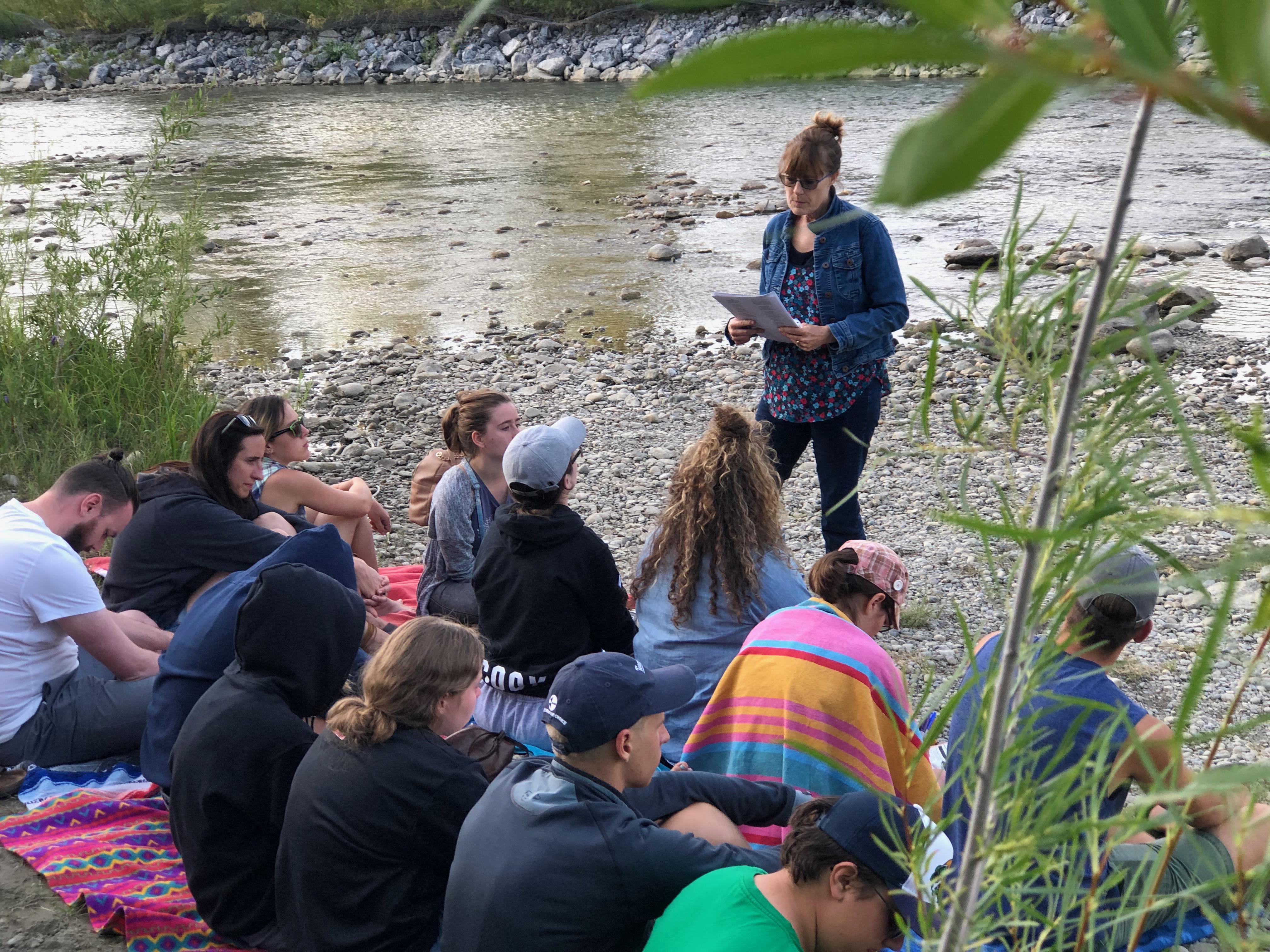 River ceremony